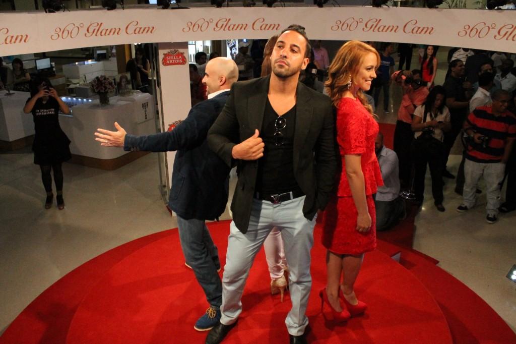 Raul Grisanty, Jhoel Lopez y Magnolia Abr 3 2013