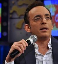 El presentador Luis Manuel Aguiló.
