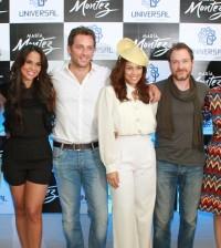 Algunos talentos del elenco y parte del equipo técnico de la película.