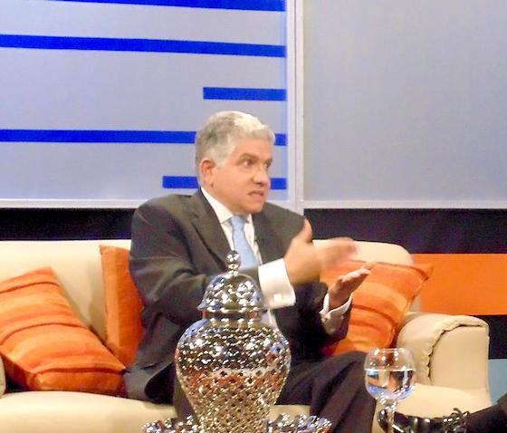 El dirigente político Eduardo Estrella.