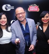 Isleyda Peña, José Antonio Rodríguez y Zumaya Cordero, desde la izquierda.