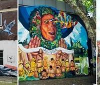 Calle 13 impulsa el arte por distintos países apoyando a artistas plásticos con exposición.