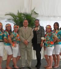 Estudiantes de Turismo de Utesa.