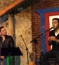 Jaime Viñas y Alexandro Seguí, en su concierto en Casa de Teatro.