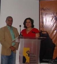 Luisa de Peña Díaz y Jimmy Sierra.