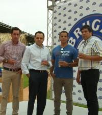 Desde la izquierda, José Pimentel, Adalberto Rodríguez, Saymond Díaz, Juanchy Sánchez.