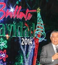 """El alcalde Roberto Salcedo prometió que esta segunda versión de Brillante Navidad será """"más espectacular""""."""