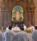 Misa en honor al día de la Virgen de las Mercedes.
