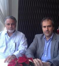 Luis Arambilet y Miguel Ángel Benzal.