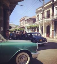 Recreación de La Habana en el filme que produce la compañía de la actriz Celinés Toribio. | Instagram/celinestoribio