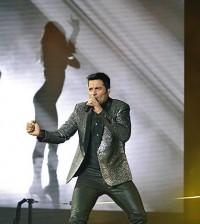 Chayanne ofreció un concierto vibrante en el Palacio de los Deportes de Santo Domingo. | Foto: Cortesía de Bufeo.com.