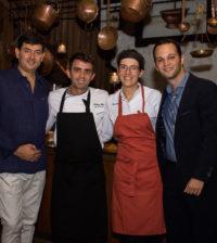 Daniel Hernandez, Anthon Masas, Alba Estevez, Charles Keusters.